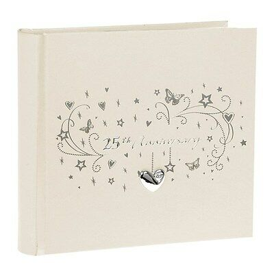 "25th Anniversary Photo Album - Silver Anniversary Photo Album -  (6 x 4"")"