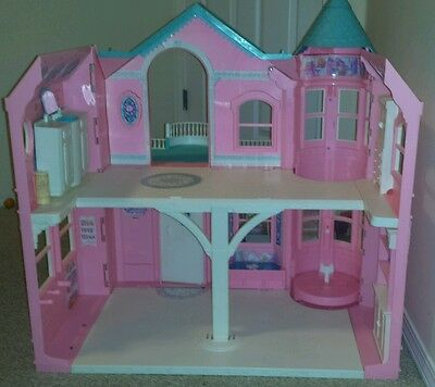 1995 Mattel Barbie Victorian Mansion Mexico Dream House Lot Mixed