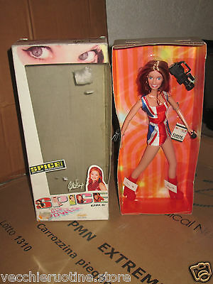 FAMOSA doll poupee SPICE GIRLS official merchandise GERI HALLIWELL GINGER SPICE