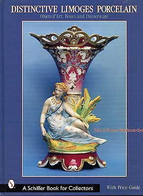 Antique Limoges Porcelain incl. Objects of Art Boxes Dinnerware / Book + Values