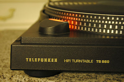 TELEFUNKEN TS860 - Direct Drive Semi Automatic - AT-System NEU - VINTAGE