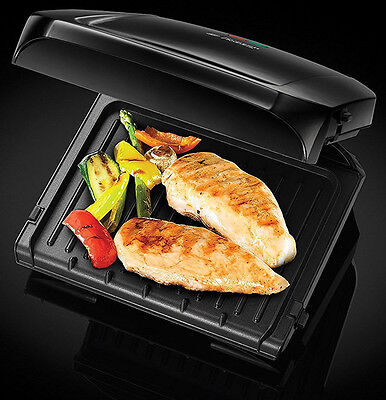 Russell Hobbs Griddle Fitnessgrill fat-free grillen 1250W 380cm2 Table barbecue