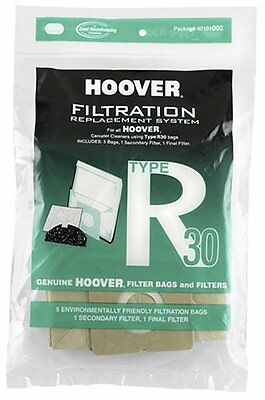 Hoover R30 Vacuum Bag 5 Pack and 2 Filters #40101002 - LOT OF 4