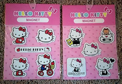 Set of 10 Hello Kitty Refrigerator/Car Magnets by Sanrio(Brand New)