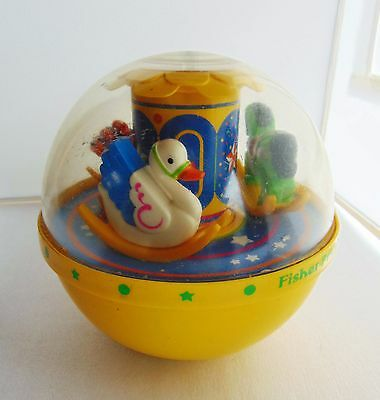 Vintage Fisher Price Roly Poly Chime Ball