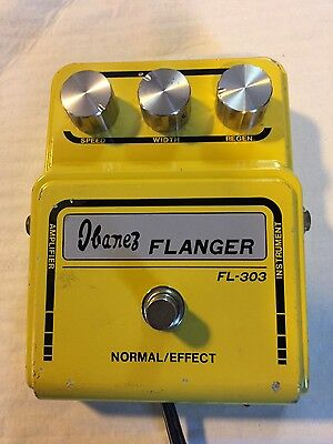 Ibanez/Maxon FL-303 Flanger Electric Guitar Pedal Wide Box