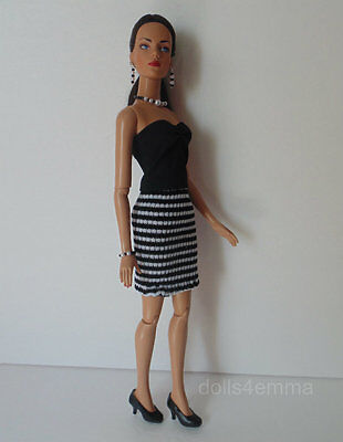 "SIDNEY Tyler Clothes Tonner 16"" handmade DRESS AND JEWELRY Fashion NO DOLL d4e"