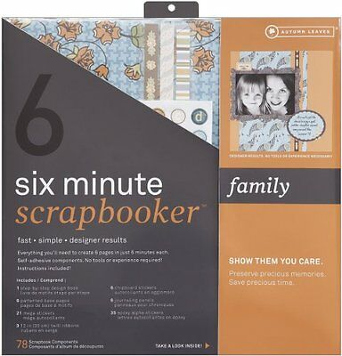 Six Minute Scrapbooker 12 Inch x12 Inch Page Kit - Family