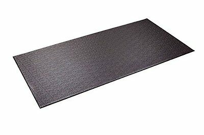 Supermats Heavy Duty P.V.C. Mat for Cardio- Fitness Products (2.5-Feet x 5-