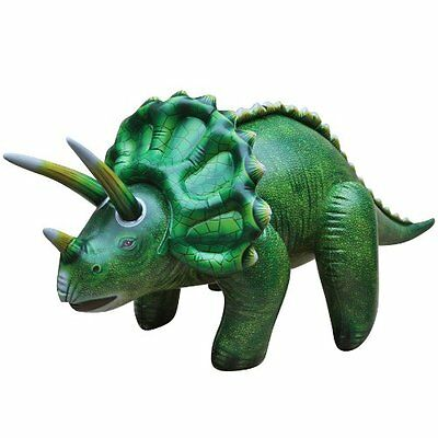 Jet Creations Inflatable Triceratops Dinosaur,