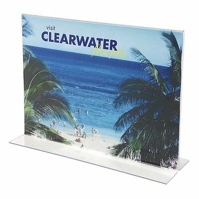 Classic Image Stand-Up Double-Sided Plastic Sign Holder