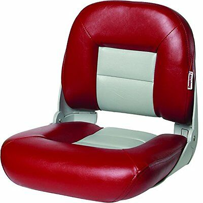 Tempress NaviStyle Low Back Seat, Red/Gray