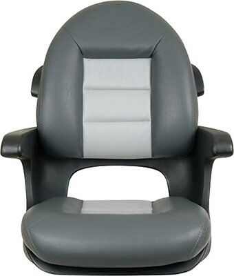 Tempress Elite High Back Helm Seat, Charcoal/Gray