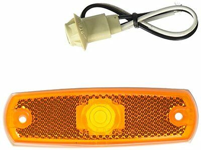 Grote 45713 Yellow Low-Profile Clearance Marker Light withou