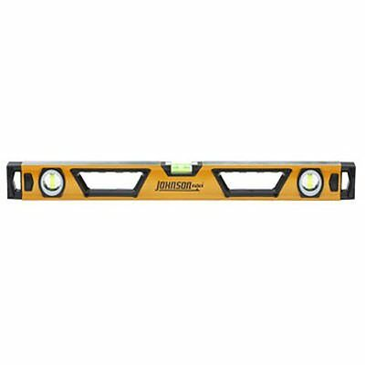 Johnson Level and Tool 1711-2400 24-Inch Professional Box Beam Level Non-Ma