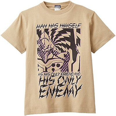 Rebuild of Evangelion first unit ENEMYT shirt Sand Khaki Size: L (japan import)