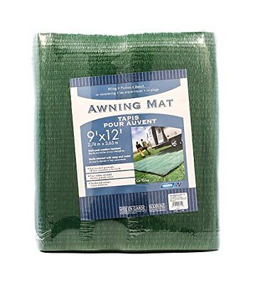 Camco 42820 Awning Leisure Mat (9' x 12'  Green)