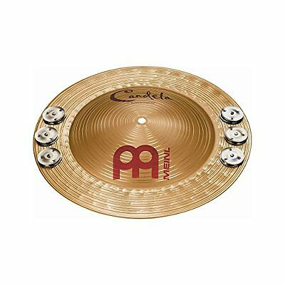 Meinl Percussion CA14PJB Candela Percussion Bell with Jingles, 14-Inch
