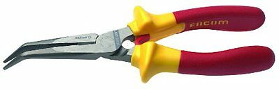 Stanley Proto Facom FA-195.16VE Bent Nose Insulated Pliers 1000VE, 6-3/8-In