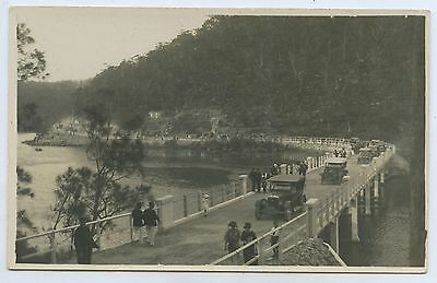 1924 Rp Npu Postcard Opening Of Middle Harbour Bridge Sydney Nsw Vg Cond. A85