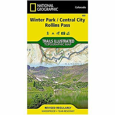 Trails Illustrated Map Winter Park / Central City / Rollins