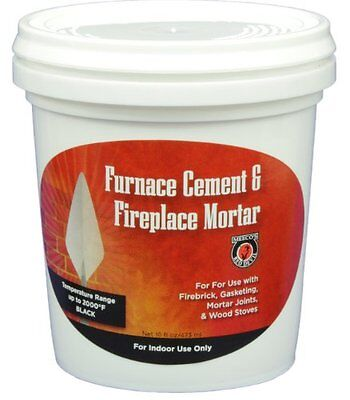 MEECO'S RED DEVIL 1353 Furnace Cement and Fireplace Mortar