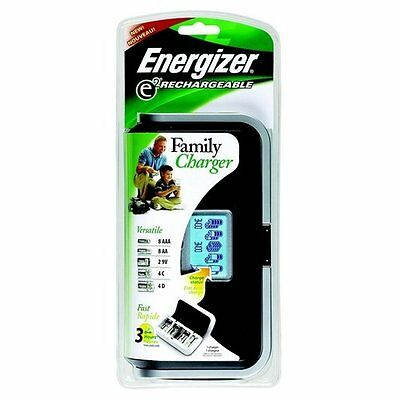 Energizer CHFC Charger AA AAA C D 9V