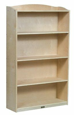 Guidecraft Single-Sided Bookcase - 60H in.