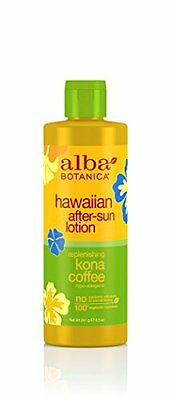 Alba Botanica Replenishing Kona Coffee Hawaiian After-Sun Lotion  8.5 Ounce