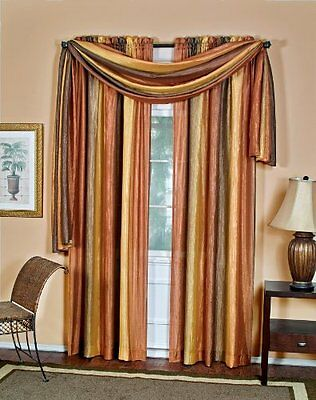 Achim Home Furnishings Ombre Window Panel, 50-Inch by 63-Inch, Chocolate