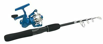 Shakespeare Travel Mate Telescopic Rod & Reel Combo (5-Feet 6-Inch, 6 Piece