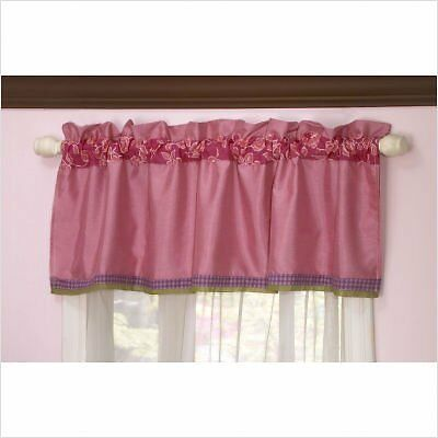 """Orchid Grace Window Valance by Cocalo - 15"""" x 53"""""""