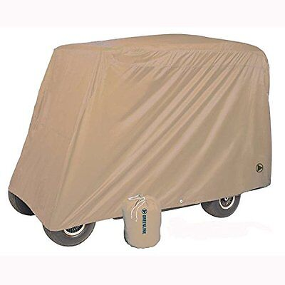 Greenline 4 Passenger Golf Car Cover (Tan, 106x47.5x62-Inch)