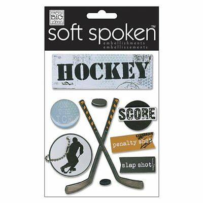 Soft Spoken Themed Embellishments, On The Ice