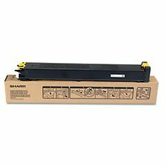 Sharp Yellow 15000 Page Yield Toner Cartridge For MX-3100N a