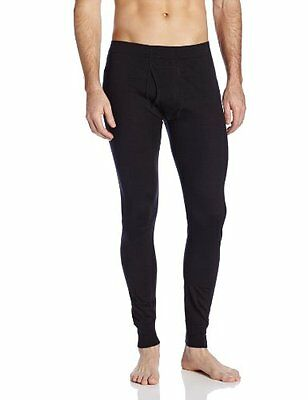 Minus33 Merino Wool Men's Saratoga Lightweight Bottom, Black, Medium
