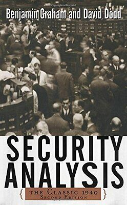 Security Analysis: The Classic 1940 Edition Copertina rigida