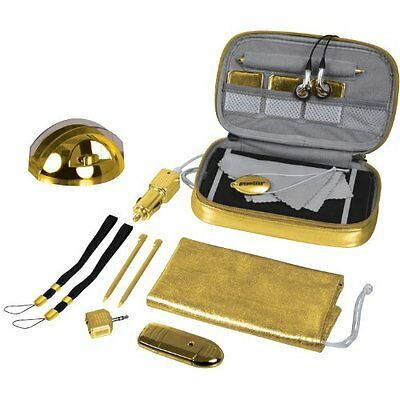 Nintendo DSi XL 20 in 1 Starter Kit - Gold