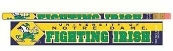 NCAA Notre Dame Fighting Irish Pencil (6 Pack), Team Color,