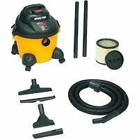 Shop-Vac 9650600 3.0-Peak HP Pro Series Wet or Dry Vacuum, 6