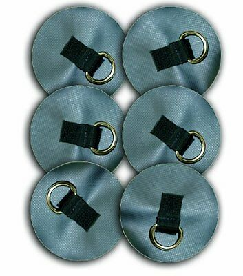 Seattle Sports D-Ring (6-Pack), 4-Inch