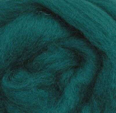 "Wistyria Editions Ultra Fine 12"" Wool Roving .22 Oz: Teal"