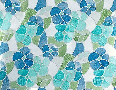 DC Fix 3460213 Blue/Green Stained Glass Self-Adhesive Window