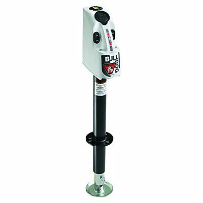 Bulldog 500185 Powered Drive A-Frame Tongue Jack with White