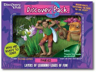 Discovery Post Fairy Discover Pack, John