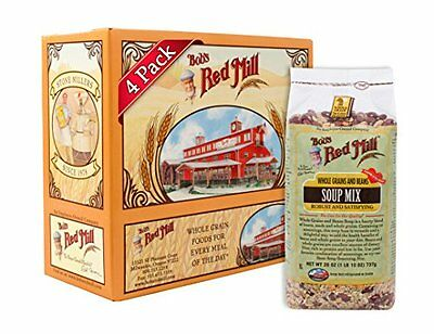 Bob's Red Mill Whole Grains and Beans Soup Mix  26-Ounce Bags (Pack of 4)