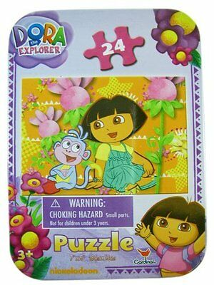 Puzzle Set - Nickelodeons Dora The Explorer Puzzle Set (24pcs)