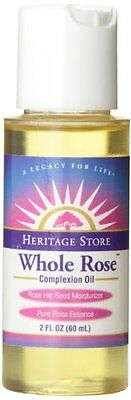 Heritage Store Body Oil, Whole Rose, 2 Ounce