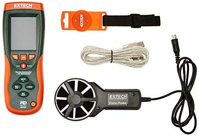Extech HD300 CFM/CMM Thermo-Anemometer with Built-in Infrare