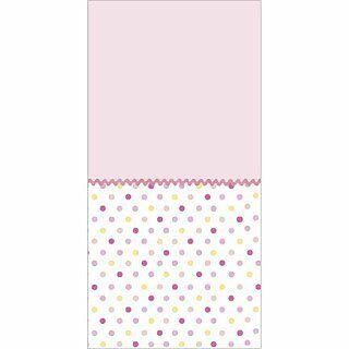 Tickled Pink Table Cover by Party Express